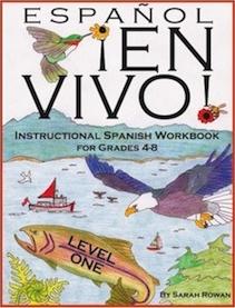 Espanol En Vivo! Spanish-language instruction materials